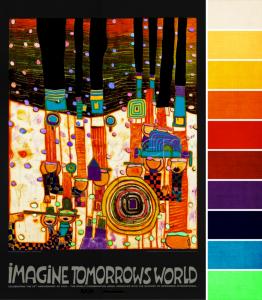 January 2015 ABS Challenge: Hundertwasser's Imagine Tomorrow