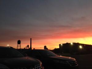 Northeast-sunset